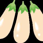 白ナスの特徴とは?美味しい食べ方や皮を剥いた方が良い?調理方法のコツをご紹介!